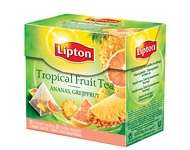 "Tēja ""Lipton Tropical Fruit"" <nobr>20 maisiņi</nobr> <nobr>(36 grami)</nobr>"