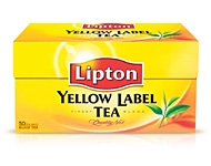 "Melnā tēja ""Lipton Yellow Label Tea"" 50 maisiņi <nobr>(100 grami)</nobr>"