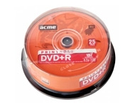 "DVD+R matricas ""Acme"" 25 gab. × 4,7 GB (16x)"
