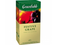 Zāļu tēja GREENFIELD Festive Grape, 25x1.5g
