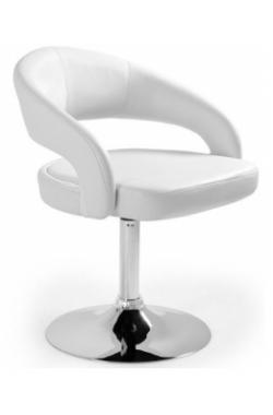 "NOMA: Bāra krēsls ""vk_stilo"" (balts)  6.10"