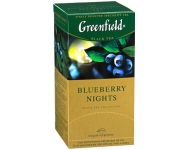 Zāļu tēja GREENFIELD Blueberry Nights (25 x 1,5)
