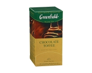Melna tēja GREENFIELD Chocolate Toffee (25 x 1,5)